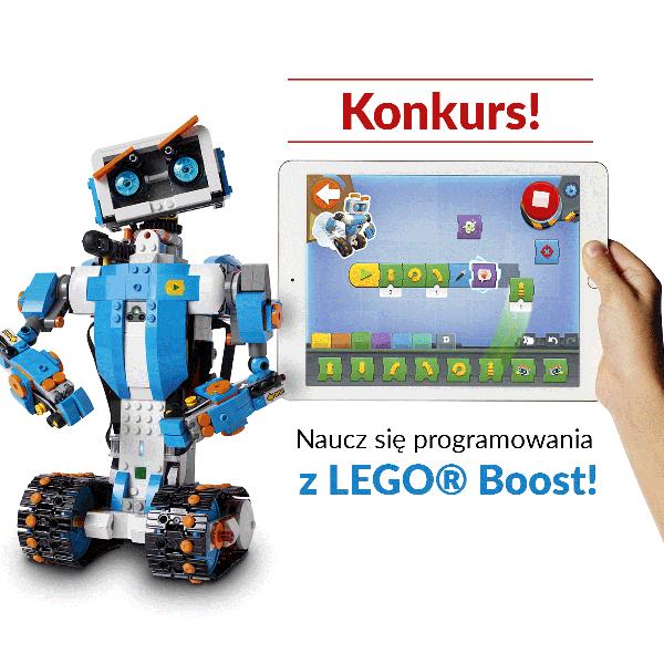 Naucz się programowania z LEGO Boost!
